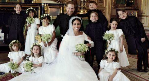 الملكة إليزابيث تمنح شعار النبالة لـ ميغان ماركل