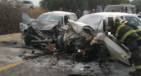 مصرع شابتين من الجنوب في حادث طرق مروع