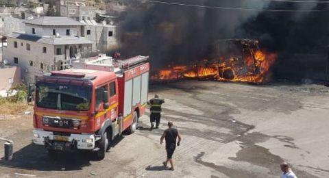 الناصرة: اندلاع حريق في مطعم