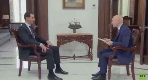 الأسد: الوضع يقترب من خط النهاية.. وواشنطن تخسر أوراقها في سوريا