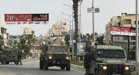 اصابات واعتقالات خلال اقتحام قوات الاحتلال مخيم الأمعري