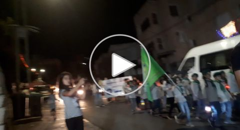 ام الفحم: المئات يشاركون بمسيرة
