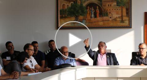 بلدية الناصرة تفشل بتمرير الميزانية في اول جلسة بالمبنى الجديد