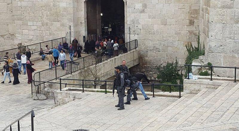 القدس: اعتقال