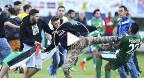 النمسا: توجيه اتهامات إلى 20 شخصا لحملهم أعلام فلسطين وضرب لاعبي مكابي حيفا