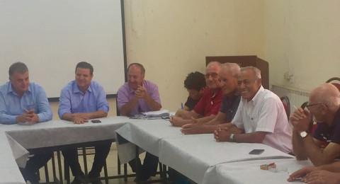 الاتحاد العام لنقابات عمال فلسطين وكتلة الجبهة الديمقراطية للسلام والمساواة النقابية