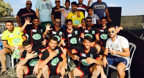 عرعرة - عارة تحصد بطولة كرة الشاطئية للمجتمع العربي
