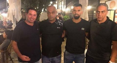 اللاعب محمود عبّاس يلتحق بهـ.ام الفحم