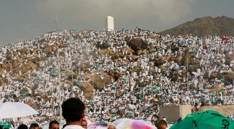 بث مباشر: حجاج بيت الله يتوافدون إلى عرفات لأداء الركن الأعظم