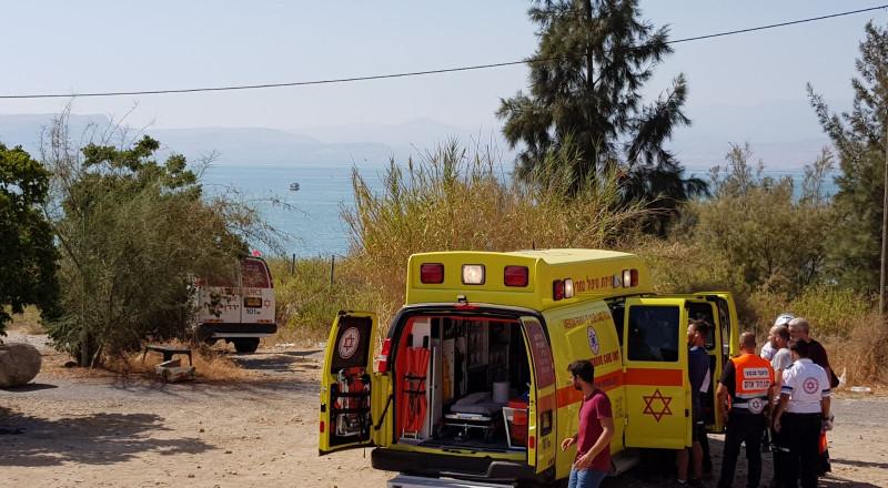 طبريا: انقاذ طفلة من الغرق، وحالتها بالغة
