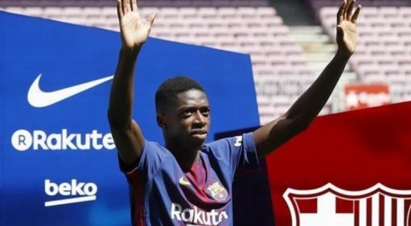 برشلونة يقدم ديمبلي