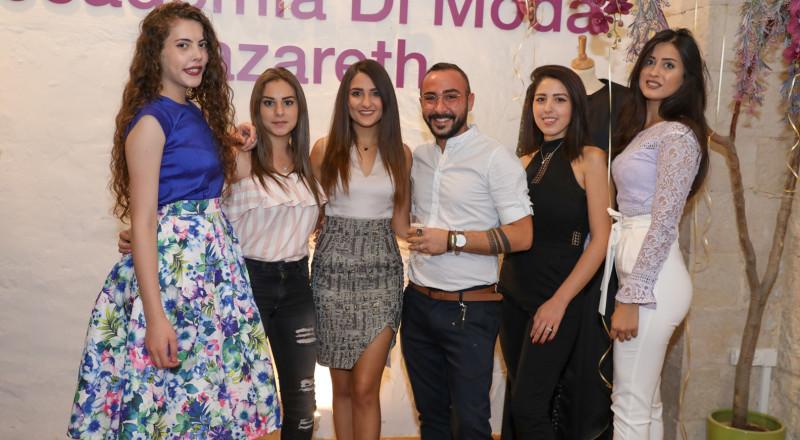 طلاب أكاديميا دي موضة- من الناصرة إلى إيطاليا