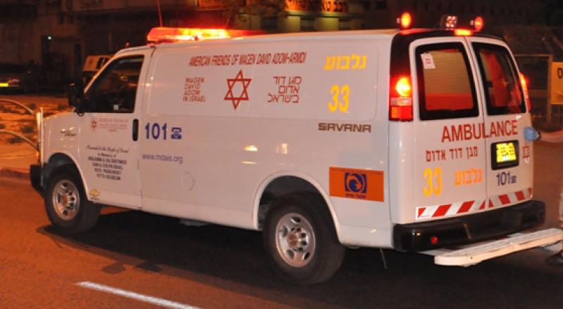 غرق طفل عربي في بركة بمنطقة نهاريا وحالته حرجة