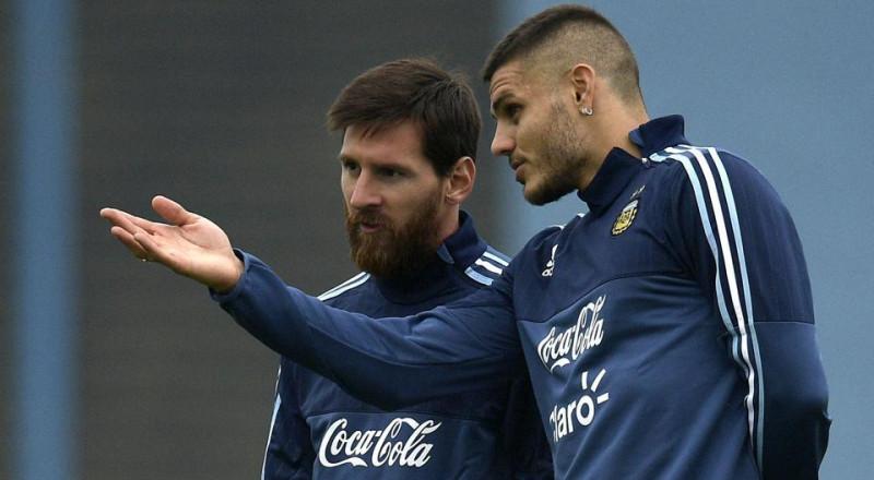 مدرب الأرجنتين يوضح سبب تفضيل ايكاردي على هيغواين