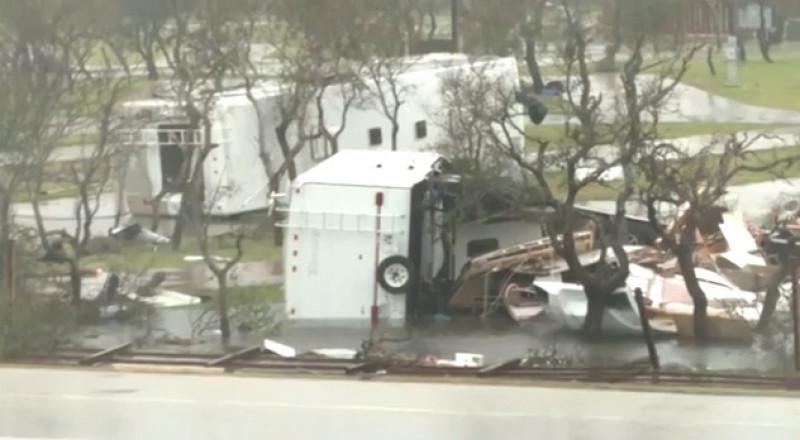 سيول مدمرة في هيوستون بعد عاصفة هارفي
