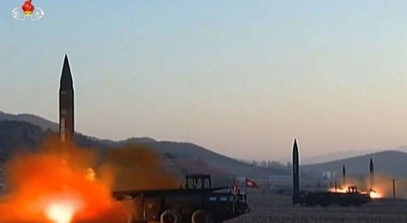 كوريا الشمالية تطلق صاروخا باتجاه اليابان في