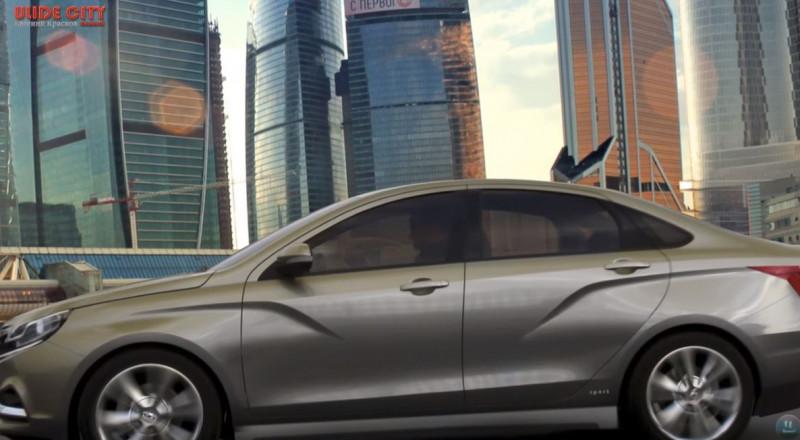 أول مقطع فيديو لسيارة لادا فيستا الرياضية الجديدة على الإنترنت.