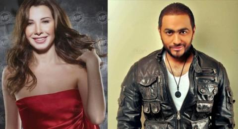 نانسي عجرم وتامر حسني للمرة الأولى معاً في حفلة غنائية في القاهرة