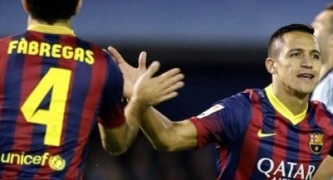 برشلونة يتغلب على سيلتا فيغو بثلاثية بيضاء