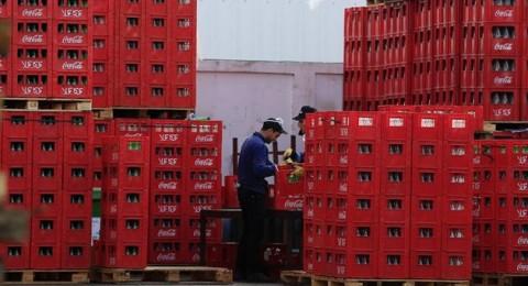 كوكا كولا تفتتح مصنعها الأول لها في غزة