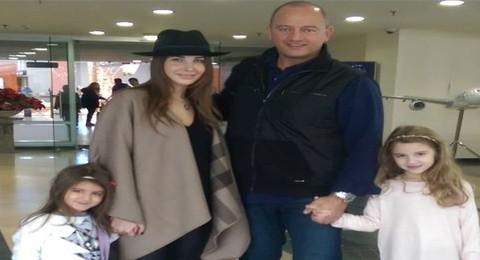 بالصورة: نانسي عجرم تبدأ إجازتها برفقة عائلتها