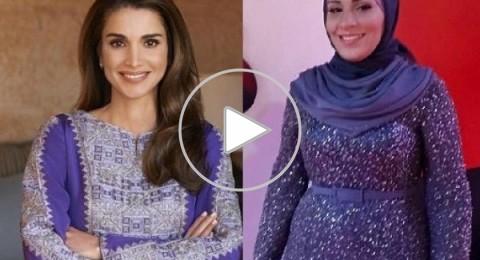 الملكة رانيا تهنئ الأردنية نداء شرارة عبر