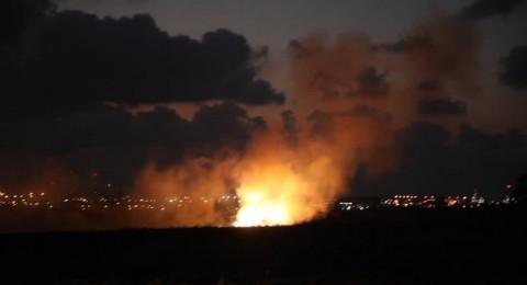 إسرائيل تقصف موقعًا شمال غزة