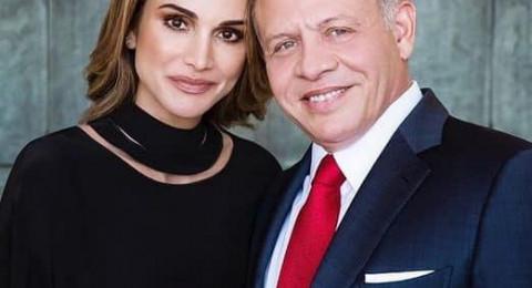ماذا قالت الملكة رانيا لزوجها في عيد ميلاده الـ55؟