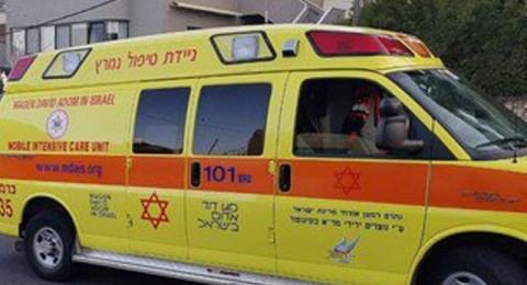 إصابة عامل اثر سقوطه في ورشة بيوكنعام