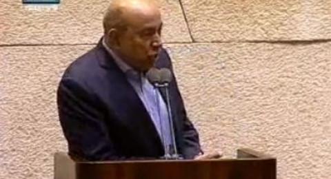 النائب زهير بهلول: اطالب القيادة الاسرائيلية بالاعتراف بالنكبة الفلسطينية عام 1948