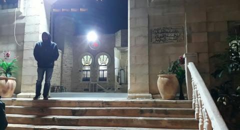 اعتداء عنصري على مسجد حسن بك في يافا