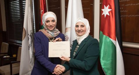 الدكتورة سمر جابر من الجامعة الأميركية في مادبا تفوز بجائزة TWAS 2017