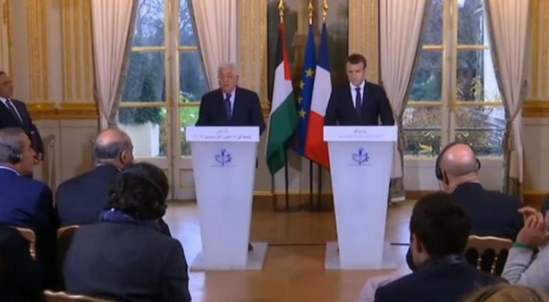 ماكرون: السلام بالشرق الأوسط لن يتحقق إلا بحل الدولتين