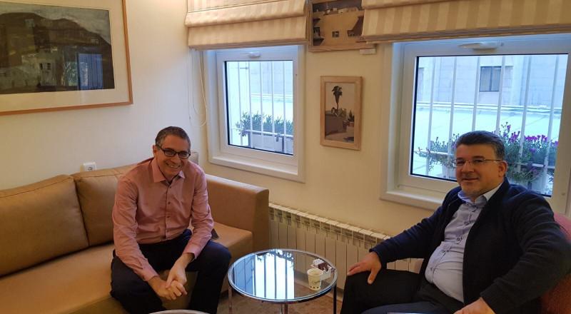 النائب جبارين يلتقي رئيس جامعة حيفا وعميد الجامعة العبرية حول قضايا الطلاب العرب