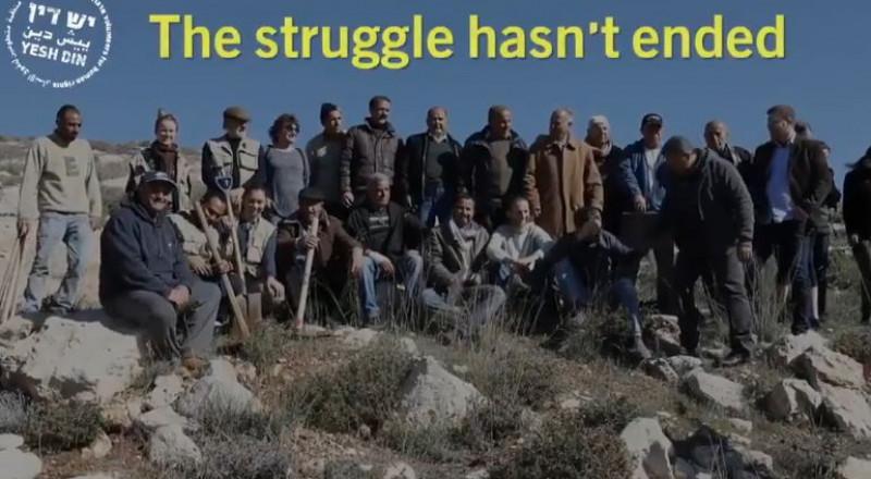 عام على إخلاء عمونا- الجيش يواصل منع اصحاب الأراضي الفلسطينيين من الوصول إلى أراضيهم