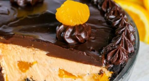 طريقة عمل فطيرة البرتقال بالشوكولاتة