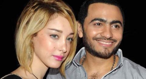 أحدث ظهور لتالية ابنة تامر حسني وبسمة بوسيل