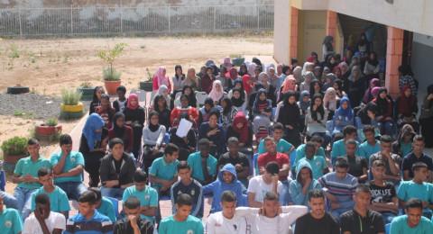 مركز شباب رهط يكرم طلاب ومعلمي مدرسة التقوى الثانوية بعد فوزهم بمسابقة أفضل مجسم