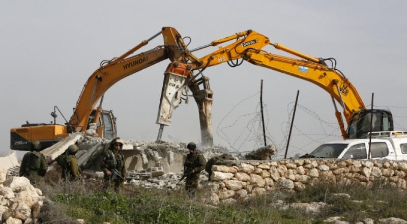 تقرير الأمم المتحدة: رقم قياسي في هدم منازل الفلسطينيين