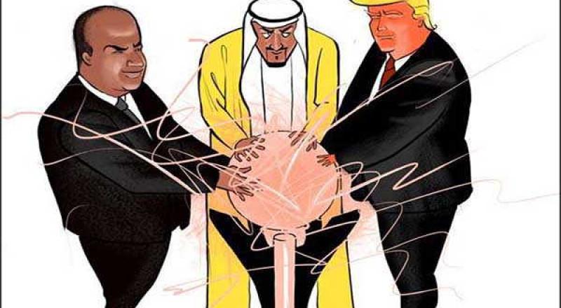 استمرار الحرب الاعلامية بين قطر والسعودية