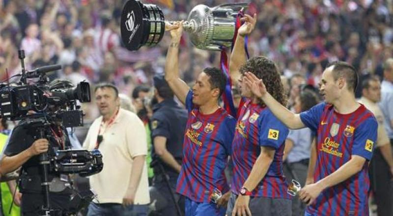برشلونة سيحتفظ بالكأس للأبد
