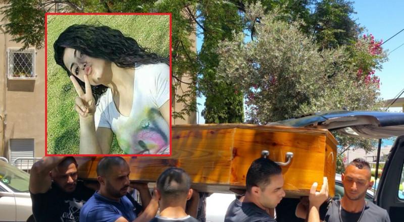 اعتقال السائق الذي دهس الطالبة ندى ابداح في حيفا، وتشييع جثمانها (فيديو للحادثة)
