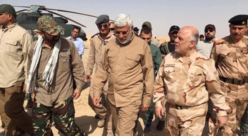 قوات الحشد الشعبي العراقية تصل الحدود مع سورية وتتقدم ضد داعش