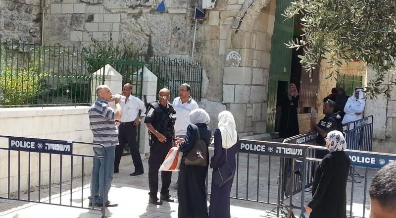 الشرطة تعلن عن تكثيف قواتها استعدادا لصلاة الجمعة الأولى في القدس