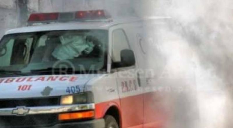 تصادم مروع بين سيارة فلسطينية وباص ينتج عنه ضحية وإصابات خطيرة
