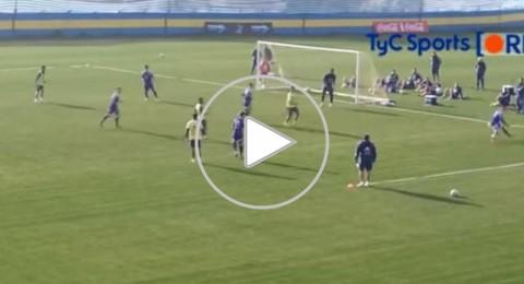تيفيز يسجل هدف خفي في تدريبات الأرجنتين