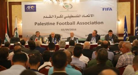 الرجوب رئيسا للاتحاد الوطني الفلسطيني لكرة القدم للمرة الثالثة على التوالي