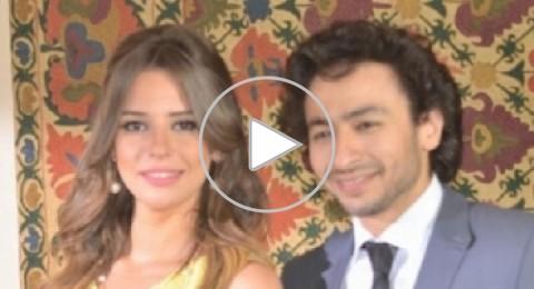 شاهدوا الفيديو: حمادة هلال يتزوج إيمان العاصي