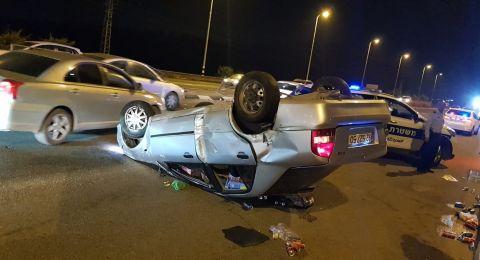 طمرة: حادث طرق ووقوع 3 اصابات