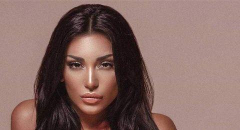 ممثلة لبنانية بإطلالة جريئة جداًُ.. شبّهها الجميع بكيم كارداشيان!